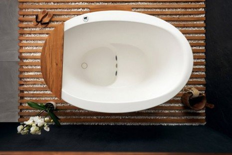 Aquatica True Ofuro Tranquility Heated Japanese Bathtub US version 110V 60Hz 08