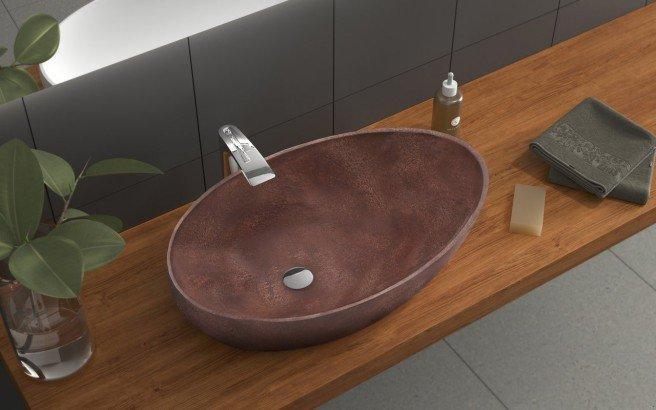 Aquatica Spoon Brnz Stone Vessel Sink 1 (web)