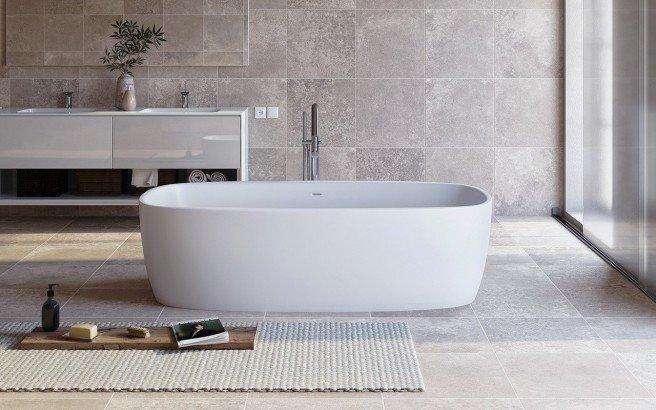 Aquatica coletta white freestanding solid surface bathtub new web 01