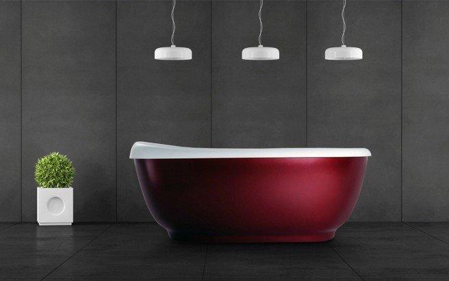 Aquatica fido red freestanding solid sirface bathtub web 01