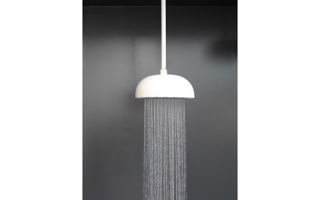 Dynamo Dynamic LED Round Shower Head White Matte 3 web