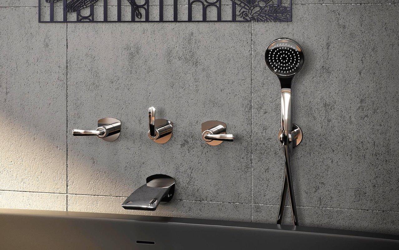 Aquatica Bollicine 111 Wall Mounted Bath Filler Chrome 08 (web)