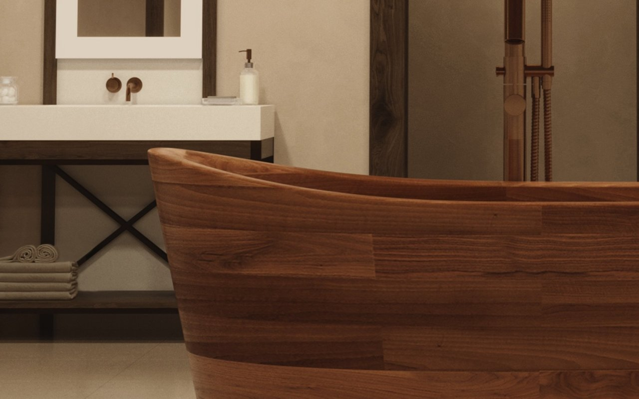 Aquatica TrueOfuro American Walnut Freestanding Wood Bathtub 11 (web)
