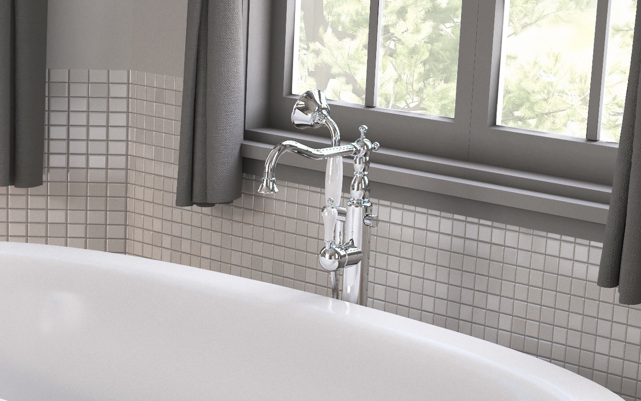 Aquatica caesar faucet floor mounted tub filler chrome 03 (web)