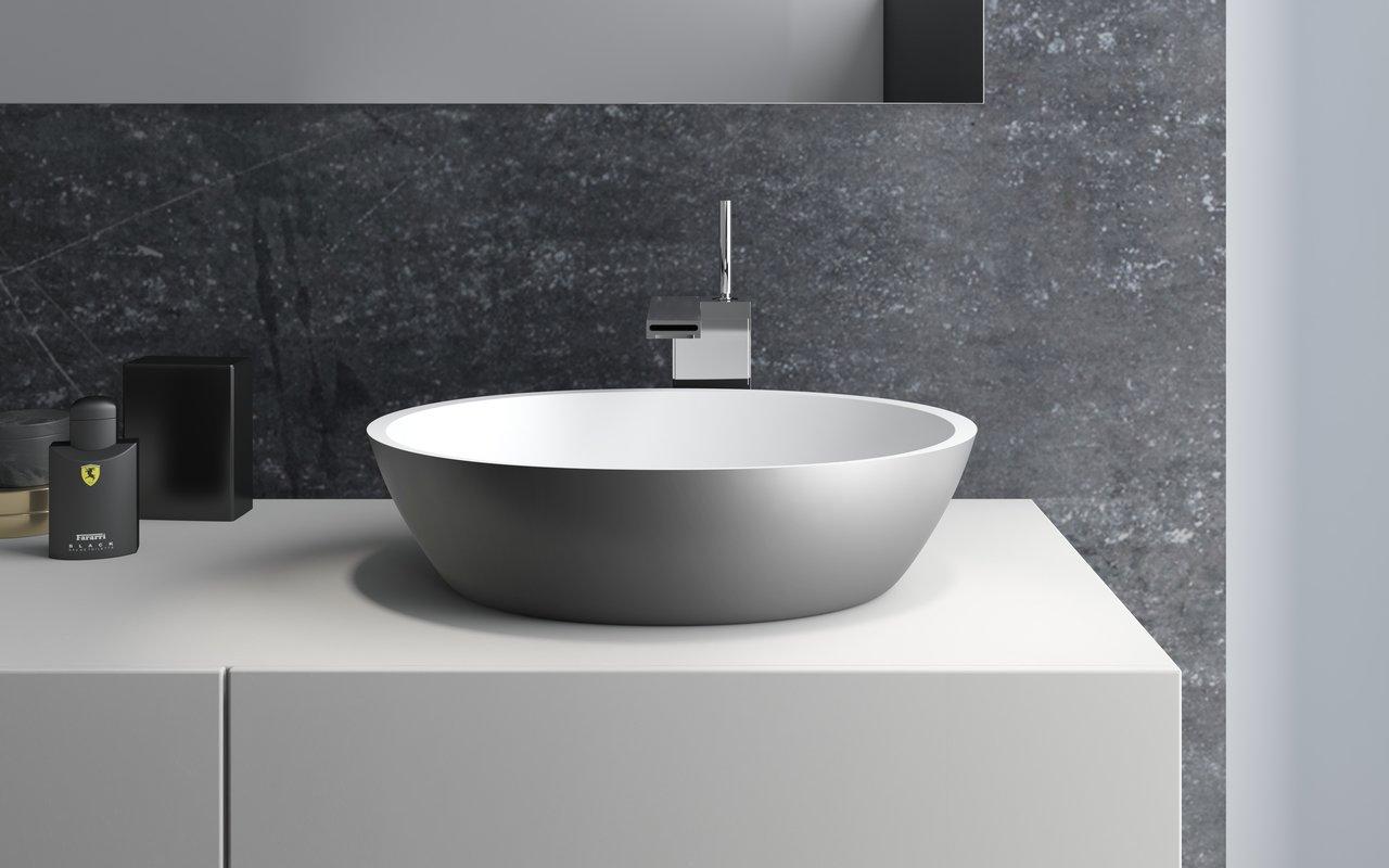 Aquatica sensuality gunmetal wht stone bathroom vessel sink 01 (web)
