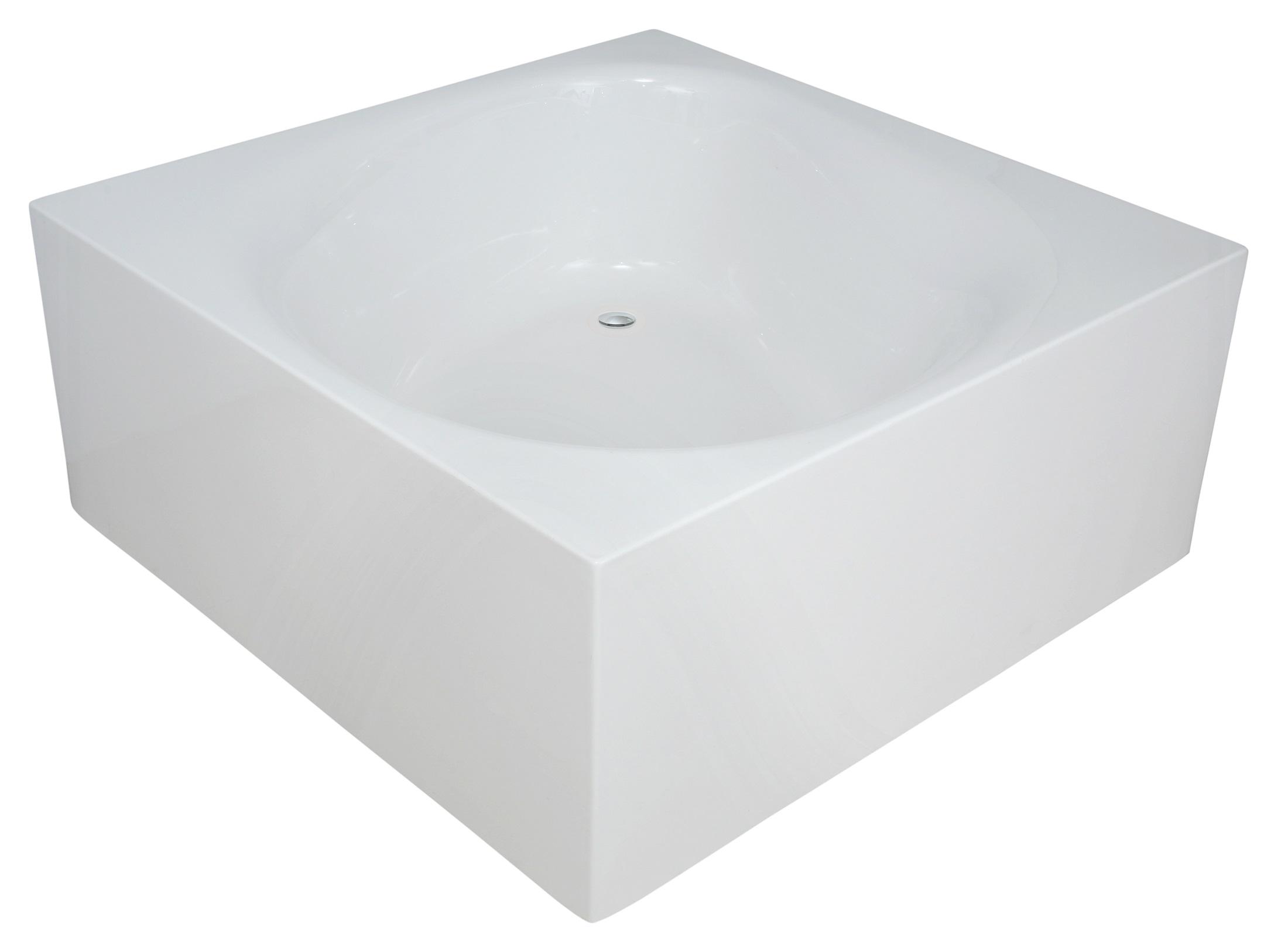 Liquid space par aquatica baignoire autoportante en acrylique for Peut on repeindre une baignoire