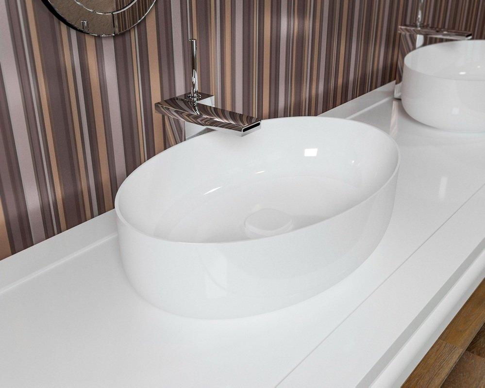 Metamorfosi vier ovale de salle de bain en c ramique for Salle de bain en ceramique
