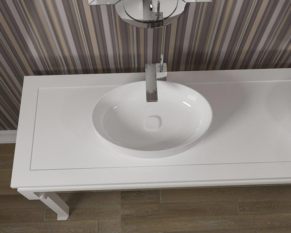 Metamorfosi vier ovale de salle de bain en c ramique for Fourniture de salle de bain