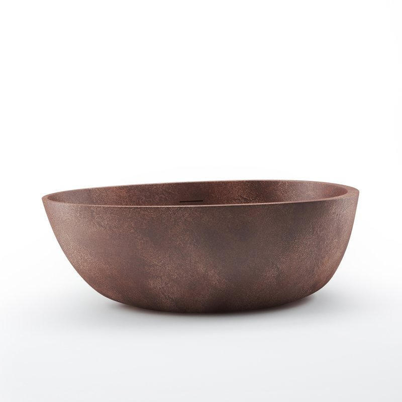 Spoon 2 Egg Shaped Bronze Solid Surface Bathtub 01 (web)