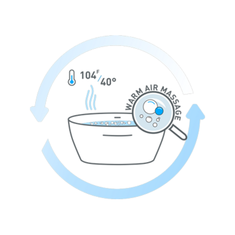 Tranquility and Relax Bathtub Icon (web)
