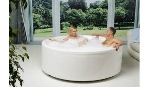 Aquatica Allegra-Wht Freestanding Acrylic Bathtub