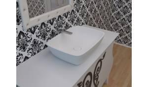 Aquatica Arabella-Wht™ Stone Vessel Sink