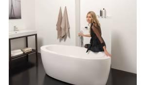 Aquatica PureScape™ 174B-Wht Freestanding Acrylic Bathtub