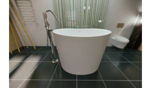 Aquatica TrueOfuro Freestanding Solid Surface Bathtub