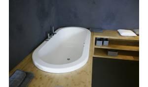Aquatica Carol-Wht™ Drop In Light Weight Stone Bathtub - Fine Matte