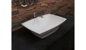 Aquatica Elise-Wht Stone Vessel Sink