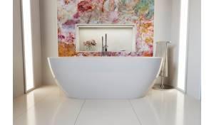 Aquatica Gloria-Wht (PureScape 014E) Freestanding Acrylic Bathtub