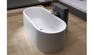 Aquatica Innovation-Wht Freestanding Acrylic Bathtub