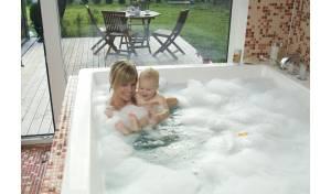 Aquatica Lacus-Wht Drop-In Acrylic Bathtub