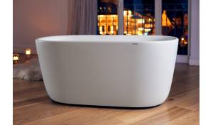 Lullaby-Wht Freestanding Stone Bathtub Series