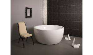 Aquatica Pamela-Wht Relax Air Massage Bathtub