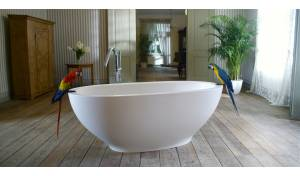 Aquatica Karolina™ Freestanding Solid Surface Bathtub