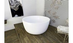 Aquatica PureScape™ 720M Freestanding Solid Surface Bathtub