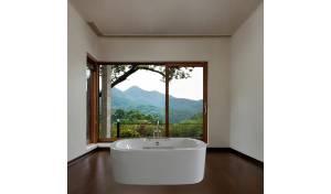 PureScape 306 par Aquatica® baignoire autoportante en acrylique