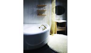 Aquatica PureScape™ 315 Corner Acrylic Bathtub