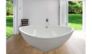 Aquatica PureScape™ 400 Freestanding Acrylic Bathtub