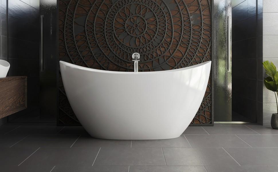 Aquatica purescape 171 mini freestanding solid surface bathtub web 02