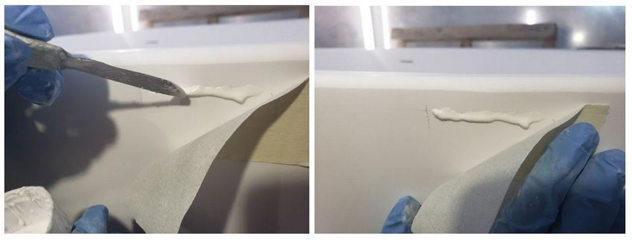 How To Repair a Solid Surface Bathtub or Sink picture № 3